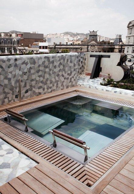 Roof Spa, El Palauet Hotel, Barcelona