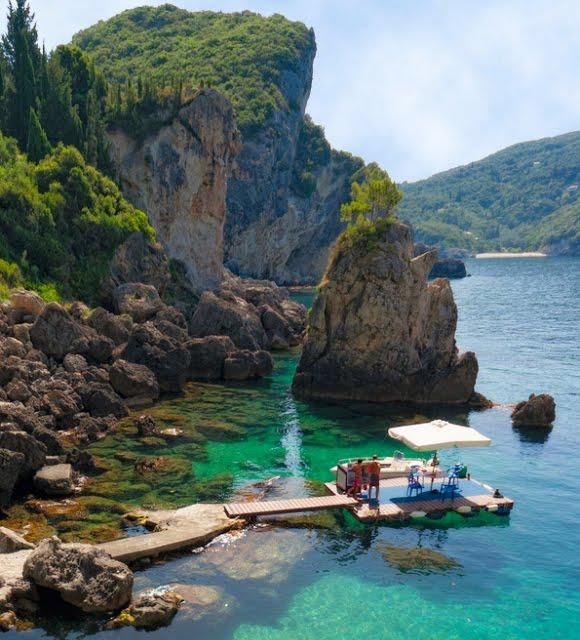 La Grotta Cove, Greece